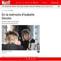 En la mémoire d'Isabelle Dinoire