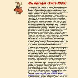 En Patufet (1904-1938). Any Patufet