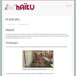 Produire des Tw'Haïkus (sur BabyTwit)