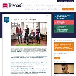 Talentéo, Recrutement handicap & diversité innovant : Offre de service