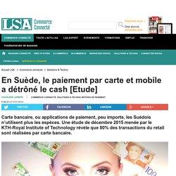 En Suède, le paiement par carte et mobile a...