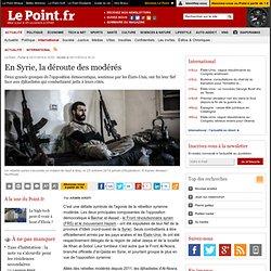 En Syrie, la déroute des modérés