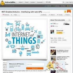WiFi Enabled Arduino - Interfacing with web APIs