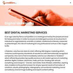 Enablers Digital Marketing Services