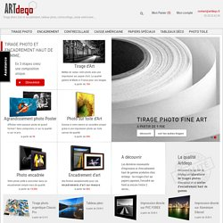 Partage photo, galerie photo, photographes, tirage photo, DarQroom.fr