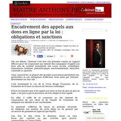 Encadrement des appels aux dons en ligne par la loi : obligations et sanctions