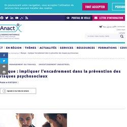 Banque : impliquer l'encadrement dans la prévention des risques psychosociaux