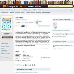Libro EnCambio, Estanislao Bachrach. Descarga, Resumen, Críticas, Reseñas,...