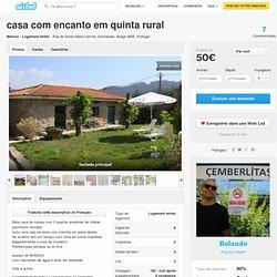 casa com encanto em quinta rural à Guimaraes