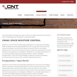 Crawl Space Repairs, Encapsulation, Insulation & Ventilation
