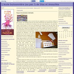 Plaques d'encastrements d'attrimaths - L'école buissonnière (ou pas ?) de Silas et Anouchka