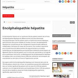 Encéphalopathie hépatite