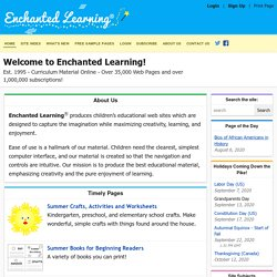 ENCHANTED LEARNING