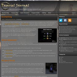 ESO Enchanting & Glyphs Guide - Tamriel Journal