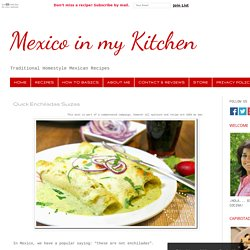Authentic Mexican Recipes Traditional Food Blog