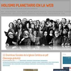 11 Encíclicas Sociales de la Iglesia Católica en pdf (Descarga gratuita)