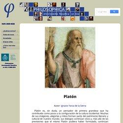 Enciclopedia filosófica on line — Voz: Platón