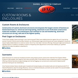 CUSTOM ROOMS & ENCLOSURES