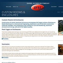 CUSTOM ROOMS & ENCLOSURES