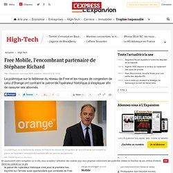 Free Mobile, l'encombrant partenaire de Stéphane Richard