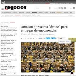 "Amazon apresenta ""drone"" para entregas de encomendas - Tecnologias"