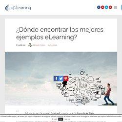 ¿Dónde encontrar los mejores ejemplos eLearning?