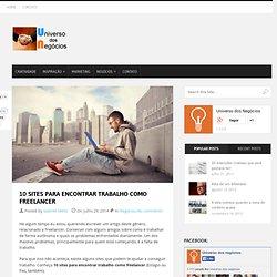10 sites para encontrar trabalho como freelancer