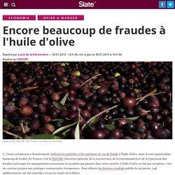 SLATE 30/01/15 Encore beaucoup de fraudes à l'huile d'olive