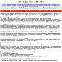 Encore féministes ! Action n° 8