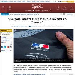 Qui paie encore l'impôt sur le revenu en France ?
