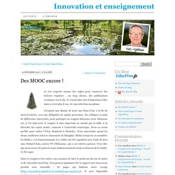 Innovation et enseignement