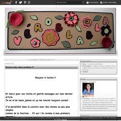 Encore des réas couture !! - Le blog de Veroblabla