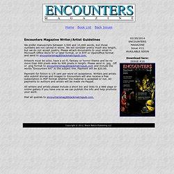 Encounters Magazine Guidelines