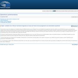 PARLEMENT EUROPEEN - Réponse à question E-000188-16 Limitation de la TVA sur les fruits et légumes au niveau de l'Union et encouragement à une alimentation équilibrée