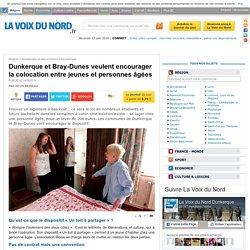 Dunkerque et Bray-Dunes veulent encourager la colocation entre jeunes et personnes âgées