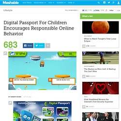 Digital Passport For Children Encourages Responsible Online Behavior