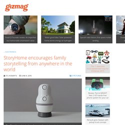 StoryHome encourages family storytelling from anywhere in the world