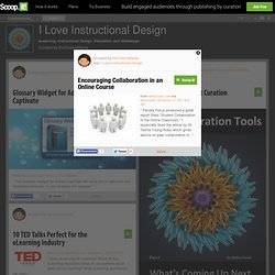 Encouraging Collaboration in an Online Course | I Love Instructional Design