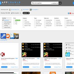 50+ Best Apps for File Encryption (android)