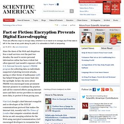 Fact or Fiction: Encryption Prevents Digital Eavesdropping