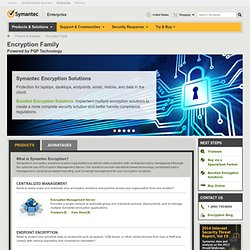 PGP Products | Symantec