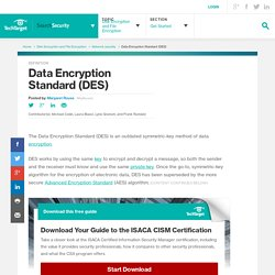What is Data Encryption Standard (DES)? - Definition from WhatIs.com