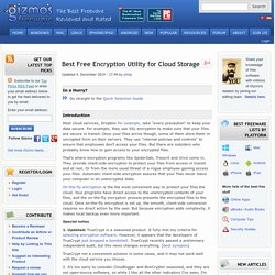 Best Free Encryption Utility for Cloud Storage