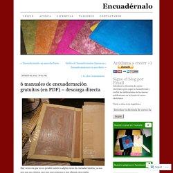 6 manuales de encuadernación gratuitos (en PDF) – descarga directa