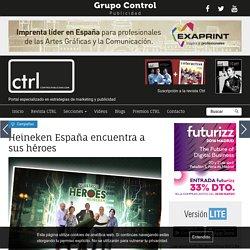 Heineken España encuentra a sus héroes, Campañas en ControlPublicidad.com