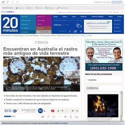 Encuentran en Australia el rastro más antiguo de vida terrestre