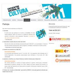 Encuentro Nacional de Cultura 2011