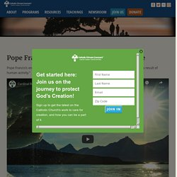 Pope Francis Encyclical and Climate Change
