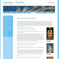 Encyclicals by Ioannes Paulus PP II