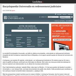 Encyclopaedia Universalis en redressement judiciaire
